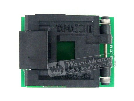 Modules 1.27mm Pitch PLCC32 TO DIP32 (B) Yamaichi IC Test Socket Programming Adapter for PLCC32 Chip/MCU modules qfp144 lqfp144 stm32f10xz stm32l1xxz stm32f2xxz stm32f4xxz yamaichi stm32 ic test socket adapter 0 5mm pitch