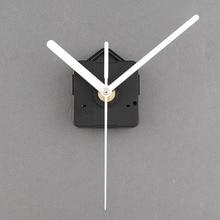 Часовой механизм DIY бесшумные классические белые кварцевые часы настенные часы механизм детали Ремонт Замена необходимые инструменты