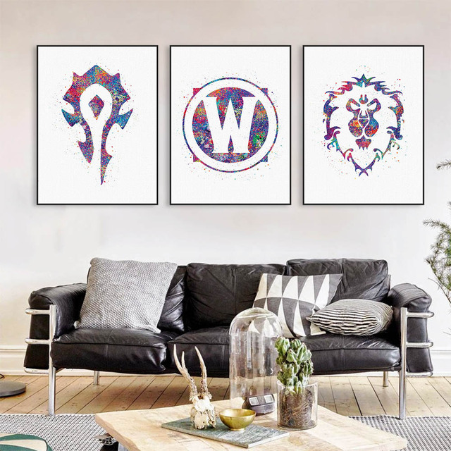 Unframed Printed Tiny World Fantasy Art 5 Piece Wall Painting Home Room Decor Poster