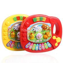 Baby Kids Musical Toy Educational Animal Farm Piano Developmental Music Toy with Animal Sound K5BO
