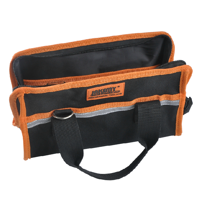 multi-functional portable repair tool bag electrician package kit Black Color Free Shipping canvas kit multifunction waist bag electrician repair water resistant pockets tool bag