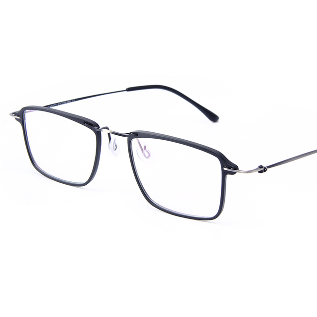 88076f8dedc Fashion Glasses Frames Men Ultralight Square Myopia Prescription Eyeglasses  Frame Male Metal Full Optical Frame Eyewear CX6277