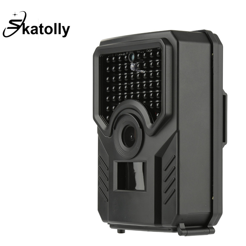 <font><b>PR</b></font>-<font><b>200</b></font>-B Trail Camera Outdoor Scouting Camera 0.8s Trigger Time PIR Sensor Wide Angle Infrared HD Night Vision Hunting Cameras image