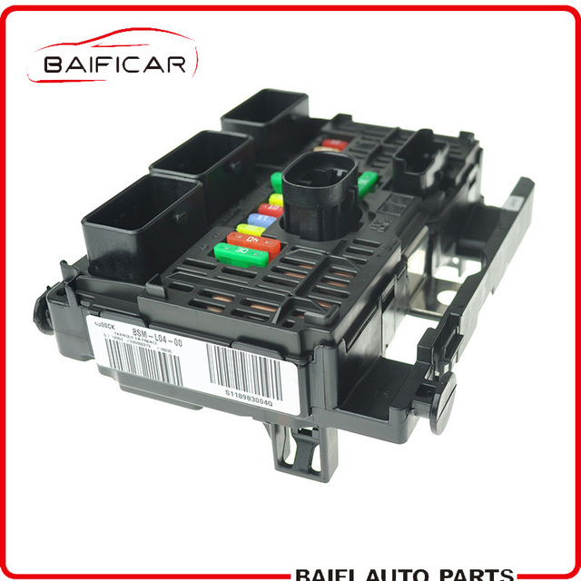 brand new genuine fuse box unit assembly 6500ck 9657718580 for peugeot 307  607 807 facelift citroen c4 with xenon lamp function