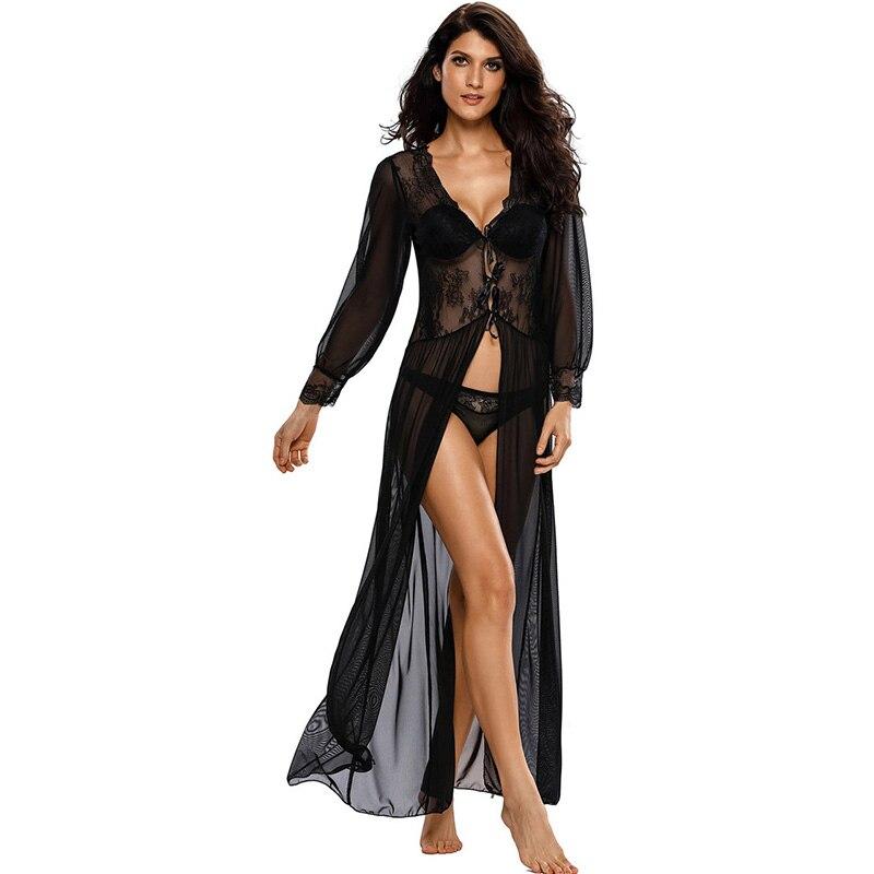 Womens soft silk satin pyjamas set loungewear sleepwear nightgown plus size sexy