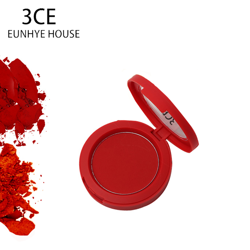 3CE Eunhye House Face Make Up Blush Soymilk Matte Pearl Rouge Blush High Quality Face Blusher Spring And Summer Blush 2 Style