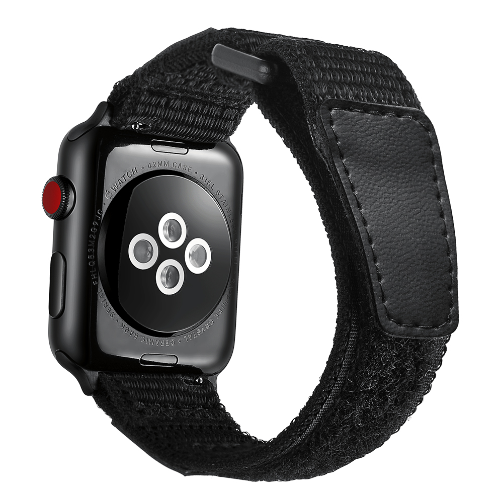 Nylon Loop bracelet Band For <font><b>Apple</b></font> <font><b>Watch</b></font> Series 2 <font><b>3</b></font> 4 5 Magic buckle Watchband For <font><b>Apple</b></font> iWatch Series 38mm 40mm <font><b>42mm</b></font> 44mm Strap image