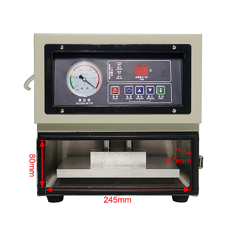 Купить с кэшбэком TBK 8 inches Auto LCD height adjustable 818 digital OCA laminating machine for phone lcd repair