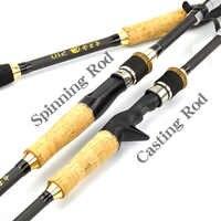 Carbono girando de telescópica caña de pescar Pesca M mano alimentador de aparejos de Pesca Polo atraer Wt: 3-21g peso de la línea 6-12lb