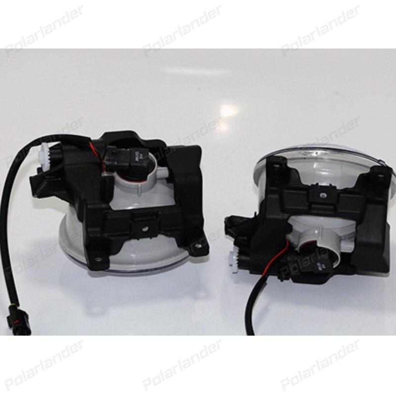 Car Styling Daytime Running Light for T/oyota R/AV4 DRL 2014-2015 LED DRL Fog Light Cover Front Lamp Auto Parts