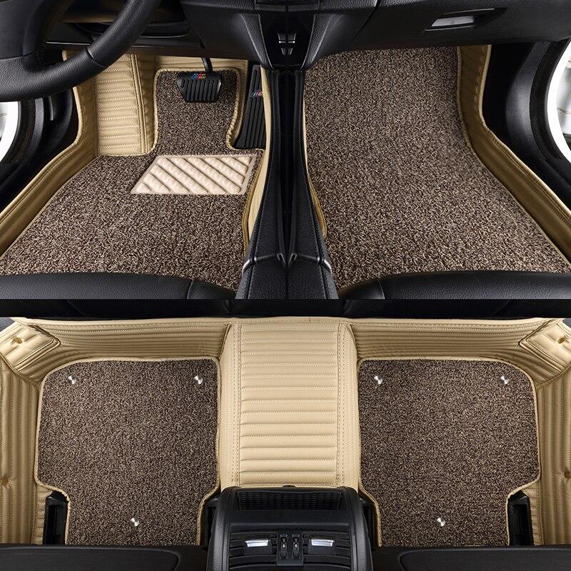 Car Floor Mats Waterproof Leather Mat Car-styling Interior Customized Carpet