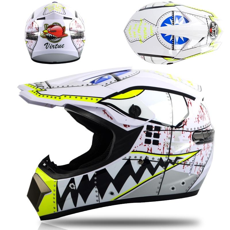 Off Road Helmet Atv Dirt Bike Downhill Mtb Dh Racing Helmet Cross Helmet Capacetes