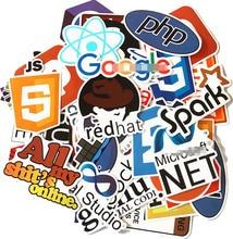 doinbby 50pcs Programming JAVA Sticker for Laptop