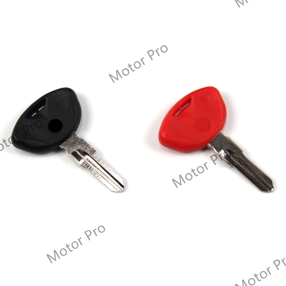 Uncut Blade Blank Key For BMW R850R R1100S R1100RS R1100GS R11000RT Motorcycle Replacement Accessories Aluminum Red BLACK