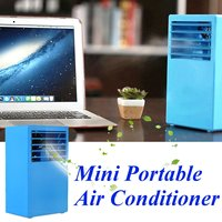 Portable Air Conditioner Mini Summer Air Cooler Humidifier Touch Control fresh air timing home Desktop Office DC 24V Air Cooling