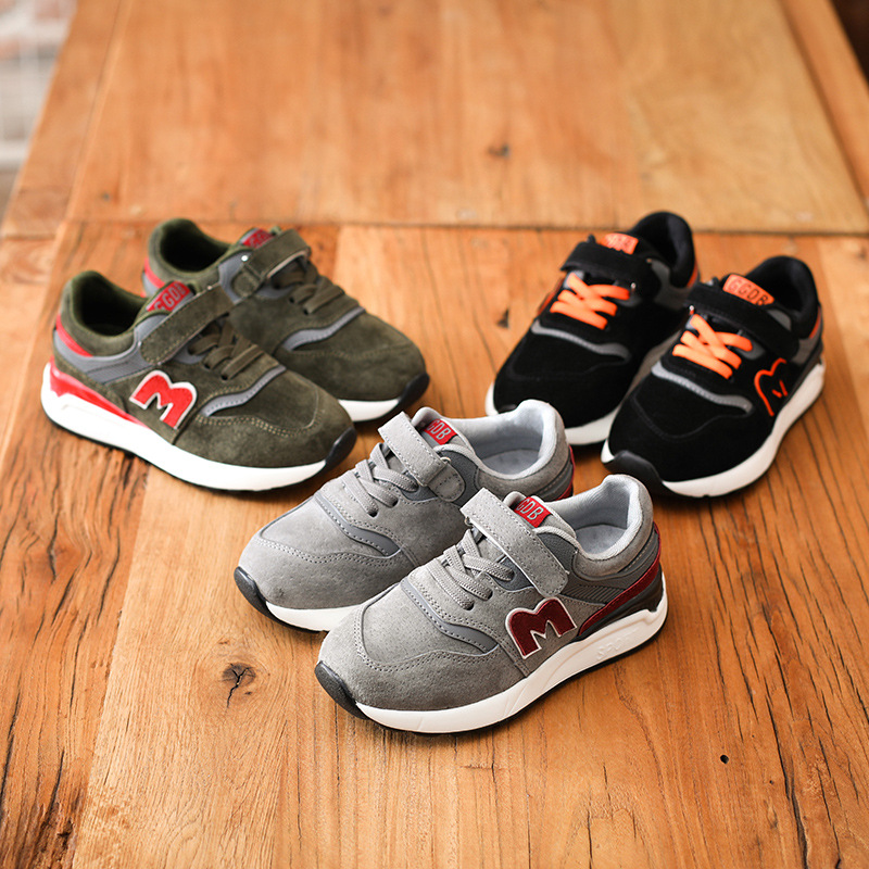 ФОТО Breathable Children Shoes Girls Boys Shoes New Brand Kids Leather Sneakers Sport Shoes Fashion Casual Children Boy Sneakers