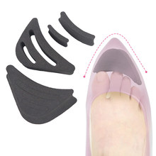 Sponge Shoes Insoles Women High Heel Pad Head Plug Adjustment Size Thickening Half-yard Cushion High-heeled Inserts