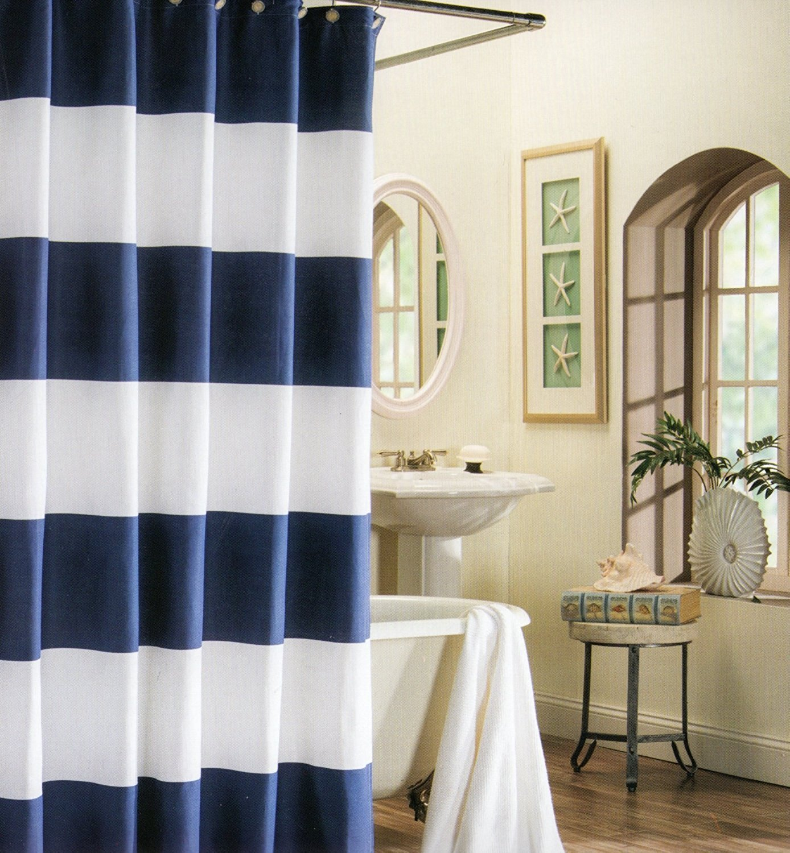 Online Get Cheap Wide Shower Curtains Aliexpresscom Alibaba Group - Beige and blue shower curtain
