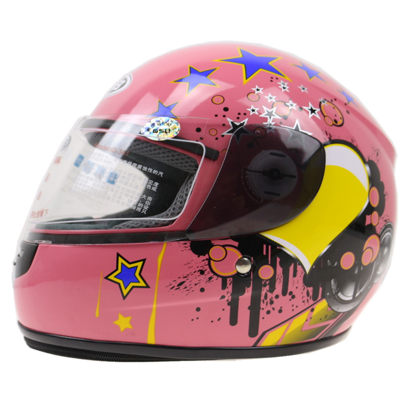 HIGH QUALITY FASHION NEW FREE SHIPPING GSB toddler motorcycle helmet ABS shell kids helmet size for 48-54cm head multicolor
