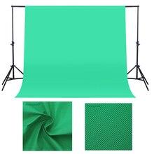 1.6X 2/3M fotoğraf arka plan fotoğraf arka planında arka plan stüdyo Video Nonwoven kumaş Chroma anahtar zemin