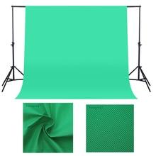 1.6X 2/3M 사진 배경 사진 배경 화면 스튜디오 비디오 부직포 크로마 키 배경