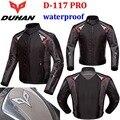 Duhan motocicleta impermeável jaqueta de Moto roupas resistência de queda de Moto ternos de corrida de Oxford