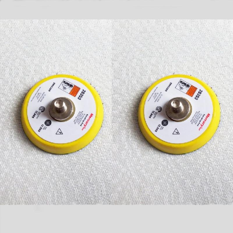 2 colių pneumatinis šlifuoklis, ekscentrinis, 2 colių šlifavimo poliravimo trinkelės, 50 mm ratas, skirtas šlifavimo staklėms