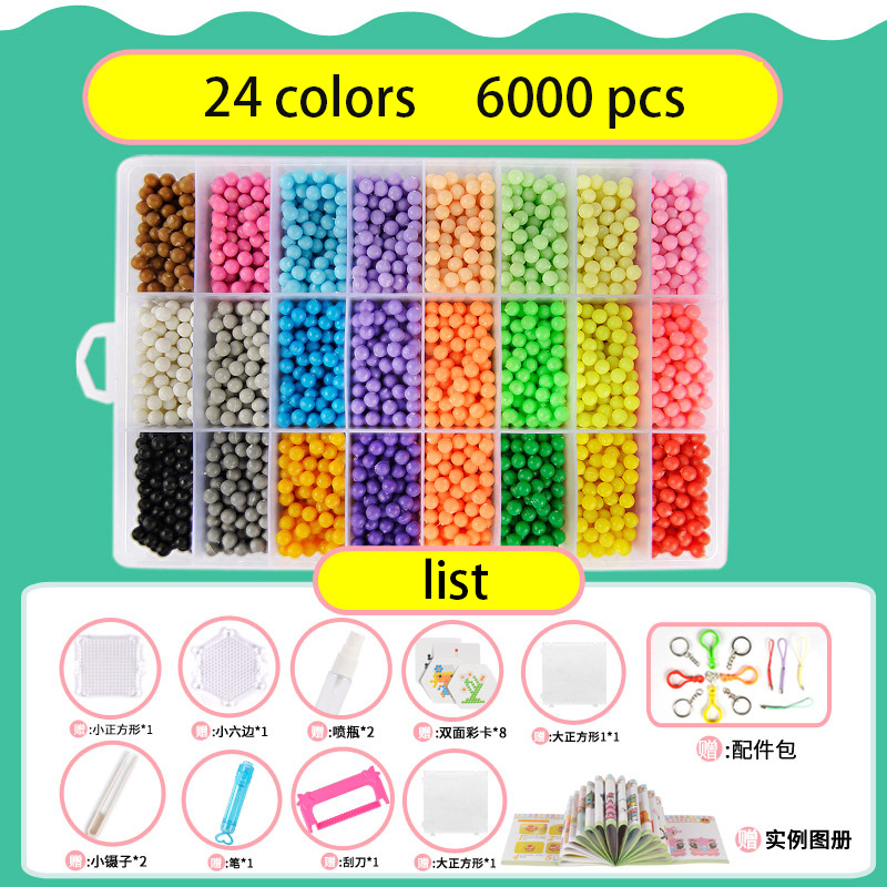 Puzzles venda quente! 5mm contas diy Suit For : Educational Kids Toys