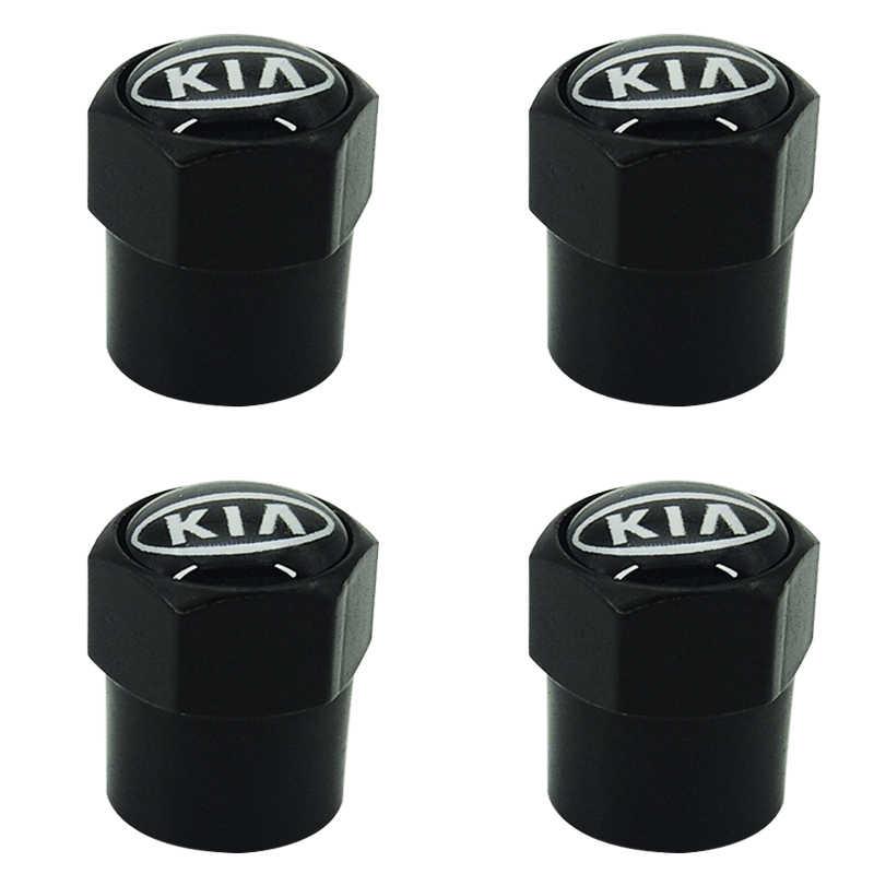 4 قطعة عجلة الإطارات أجزاء صمام الجذعية قبعات غطاء لكيا Ceed ريو سبورتاج R K3 K4 K5 Ceed سورينتو سيراتو أوبتيما 2015 2016 2017 2018