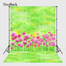 NeoBack vintage 6x10ft vinyl backdrop backgrounds for photo studio children Computer Painted Backdrops A0868