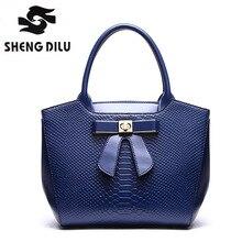 2017 Cute Bow Small Handbags For Women Fashion Brand Alligator Parttern Crossbody Bags
