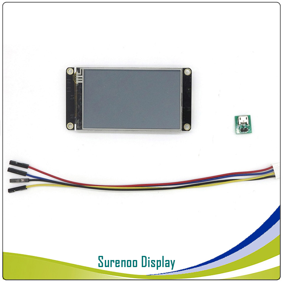 """Image 5 - 3.2"""" NX4024K032 Nextion Enhanced HMI USART UART Serial Resistive Touch TFT LCD Module Display Panel for Arduino Raspberry Pi-in LCD Modules from Electronic Components & Supplies"""