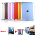 Suave tpu caso capa para apple ipad 2 caso de silício de alta qualidade para o caso ipad 3 colorful magro macio capa para ipad 4 9.7 polegadas