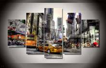 Hd Printed New York City Painting On Canvas Room Decoration Print Poster Picture Canvas Framed Free Shipping/91181(China)
