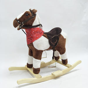 HAPPY ISLAND Rocking Horse Animal Riding Toy Pony Kid