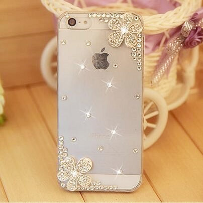 Rhinestone Hard Back Cover Skin Case Cover For iPhone 4 iPhone 4s case cover, New Arrival mobile Phone Case Wholesale retail