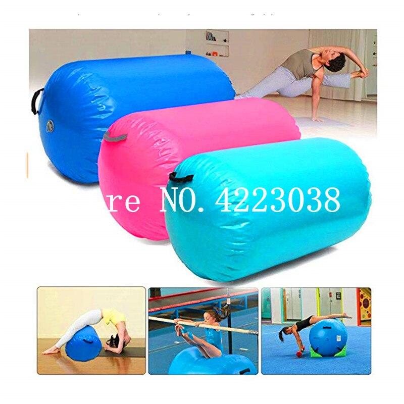 Livraison gratuite 1.2 m * 0.6 m Airspot gymnastique Airtrack-Roll tapis gonflable de Tumbling avec une pompe à Air pour Gym