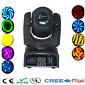 DMX Stage light mini 10w led spot moving head, LED mini moving head spot dj disco lighting 10W led gobo light chandelier