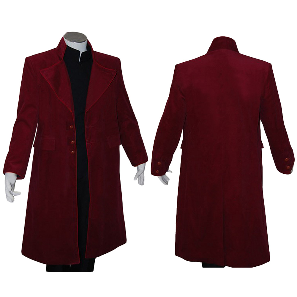 Johnny Depp Willy Wonka Charlie and the Chocolate Factory Cosplay Costume Coat Jacket Only