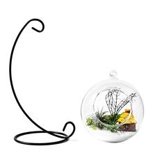 Glass Ball Vase Glass Aquarium Fish Tank Hanging Flower Pot Hydroponics Plant Vase Home Decoration(China)