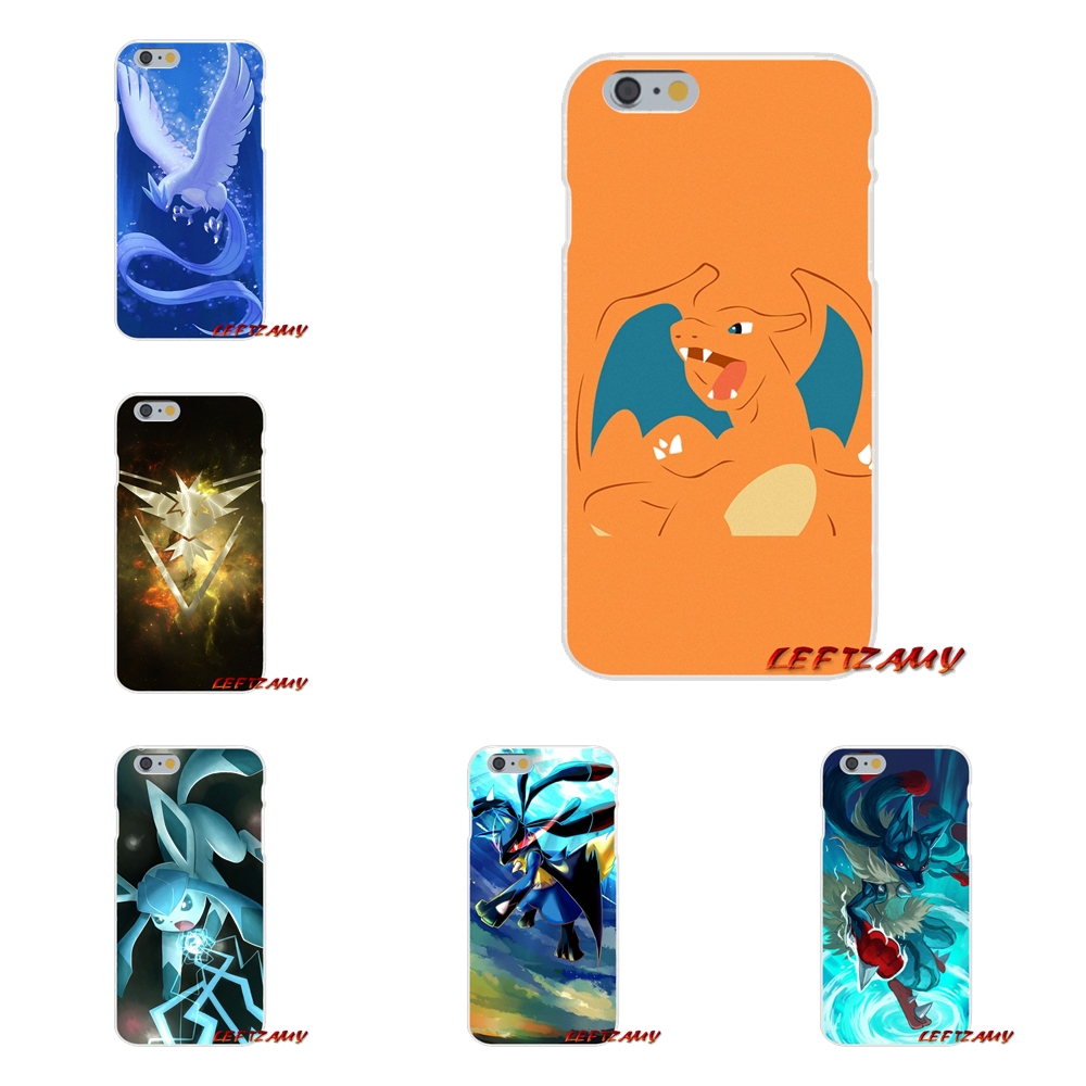 For Samsung Galaxy S3 S4 S5 MINI S6 S7 edge S8 S9 Plus Note 2 3 4 5 8 Accessories Phone Shell Covers Cartoon Pokemons Pikachus
