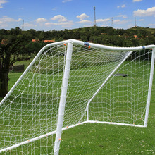 Durable Soccer Net for Games and Practice