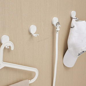 Image 5 - Youpin HL Wall Hooks Little Adhesive Multi function Hooks/Wall Mop Hook Strong Bathroom bedroom Kitchen 3kg Max Loa