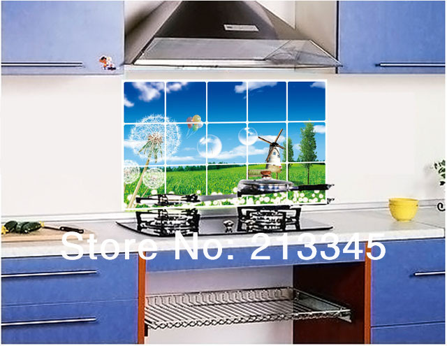 Tegel Decoratie Stickers : Fundecor] keuken olie stickers voor keuken tegel decoratie thuis