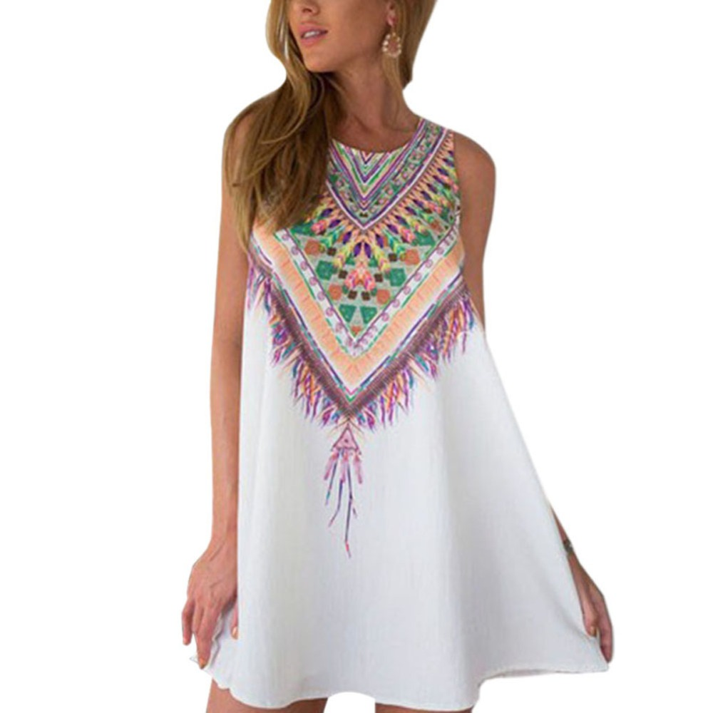 SILVERCELL Καλοκαιρινό Σύντομο Φόρεμα - Γυναικείος ρουχισμός - Φωτογραφία 3