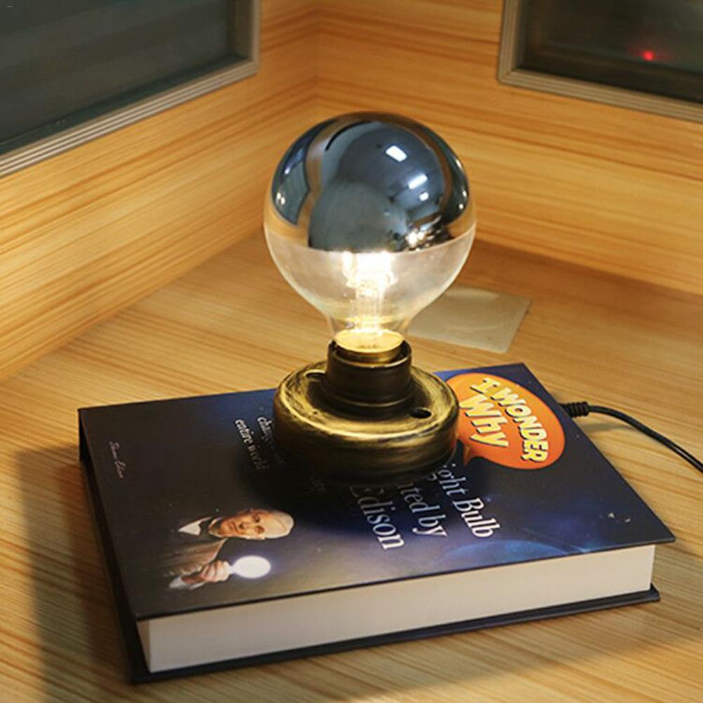 все цены на Magnetic Levitation Wireless Led Bulb Innovative Desktop Lighting Edison Book Magnetic Levitation Bulb Protective eye 15 онлайн