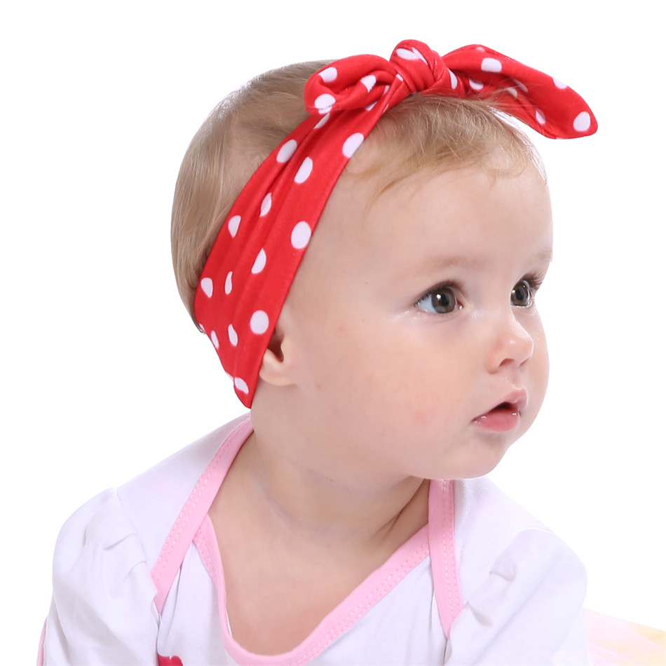 Girl's Accessories Baby Toddler Kids Girls Bow Hairband Turban Knot Cute Headband Bow Accessories Headwear Head Wrap Pink Red Purple Black Blue Carefully Selected Materials Apparel Accessories