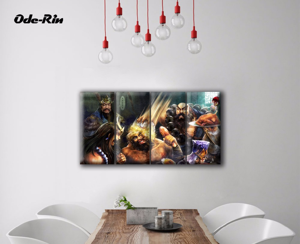 Kids online coloring and painting games - Wall Paintings Modern Oil Painting Canvas Abstract Drawings People Games Pop Art Modern Paintings 4 Puzzle