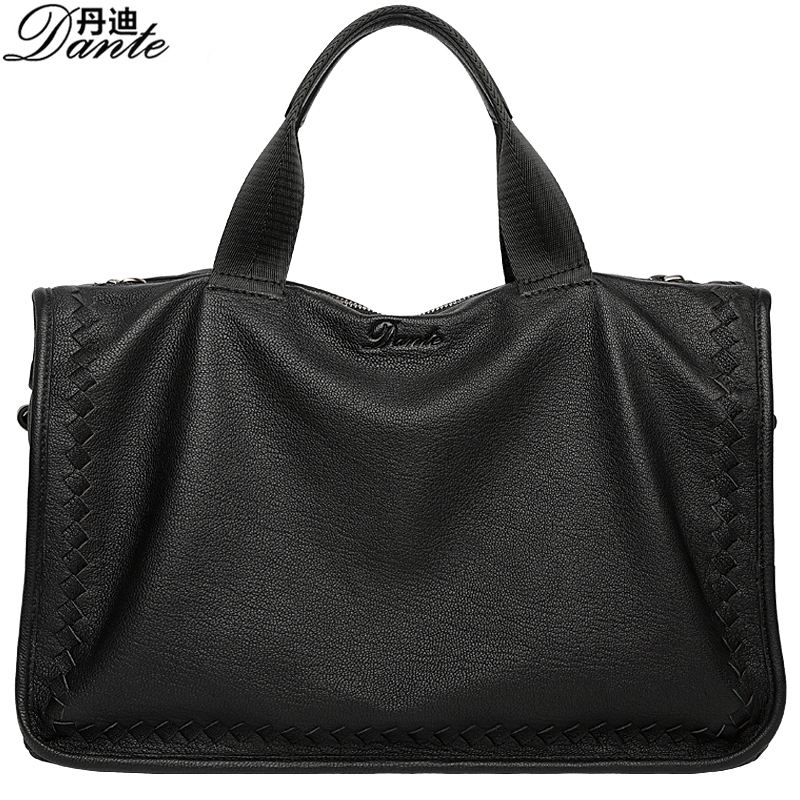 DANTE Soft Genuine sheepskin Leather Men Messenger Bag Designer Handbags High Quality Crossbody bag large capacity Shoulder Bags men business travel crossbody shoulder handbags bag luxury style messenger bag high quality large capacity genuine leather bags