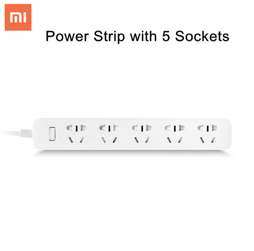New Original XiaoMi Home Power Strip with 5 Power Sockets